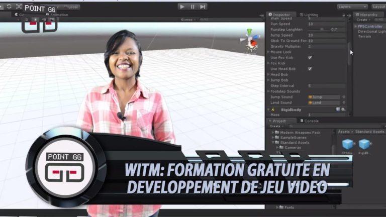 Formation gratuite en developpement jeux vidéo by Women In Tech Madagascar