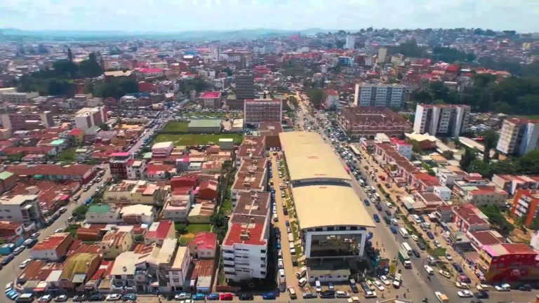 Antananarivo Drone View