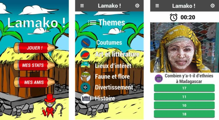 Lamakoo, application de quizz sur la culture malagasy, naît à Paris !