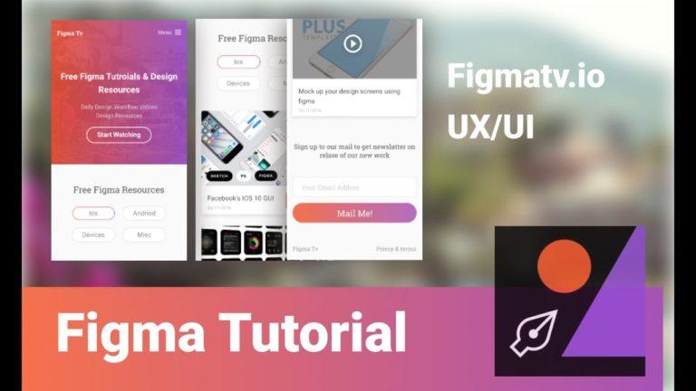 Figma, un outil gratuit pour designer des wireframe