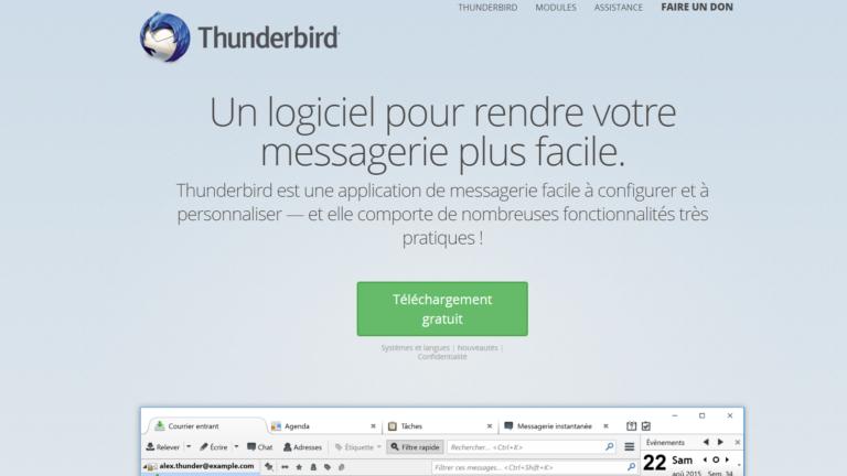 Thunderbird – La solution open-source Mozilla pour gérer vos emails