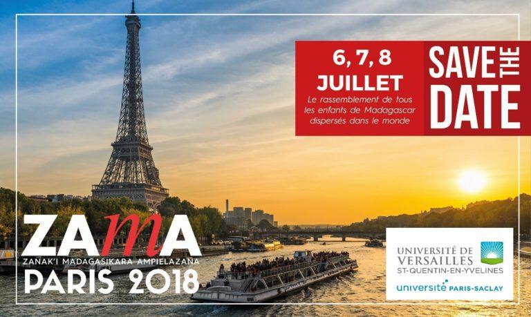 Zama Paris 2018 – le lieu rassemblement de la diaspora Malagasy