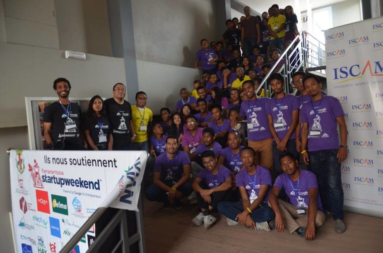 T-isera remporte l'édition locale du Global Startup Weekend AI Antananarivo 2018