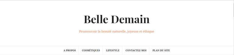 Belle demain, le blog pour les amoureuses de la cosmétique