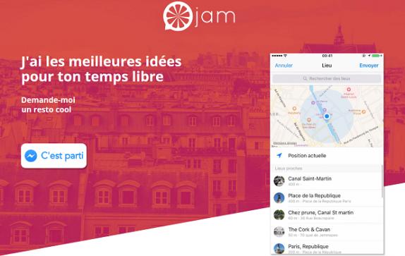 Jam – Le chatbot pour une nouvelle conversation chaque jour