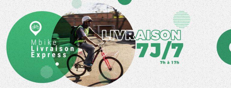 MBike Livraison Express,  la livraison à domicile au service de l'écologie