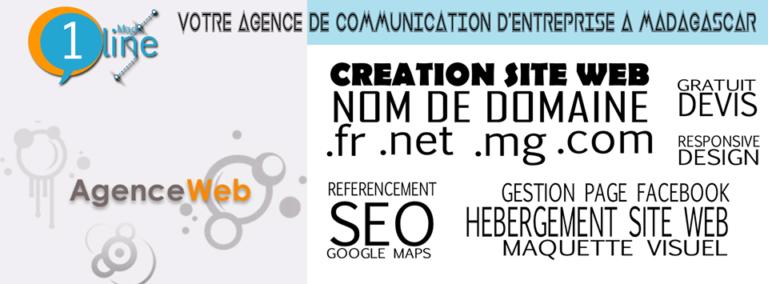Oneline Mada, l'agence de communication et de conception web